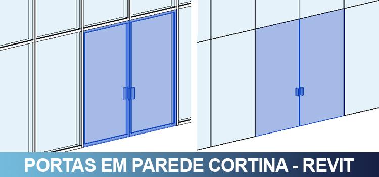 Inserir portas em parede cortina qualificad for Tipos de ganchos para cortinas