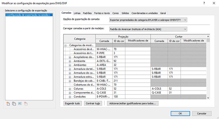 Exportar-revit-para-autocad